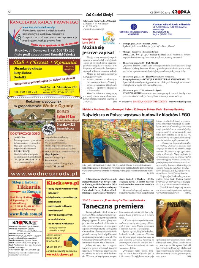 Skład gazety lokalnej6