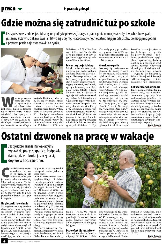 Skład gazety ogólnopolskiej