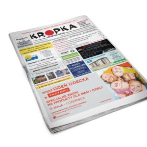 Skład gazety dzielnicowej