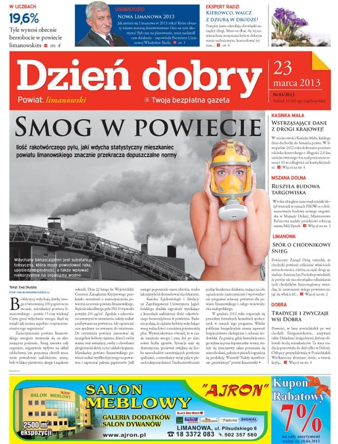 Strona gazety regionalej