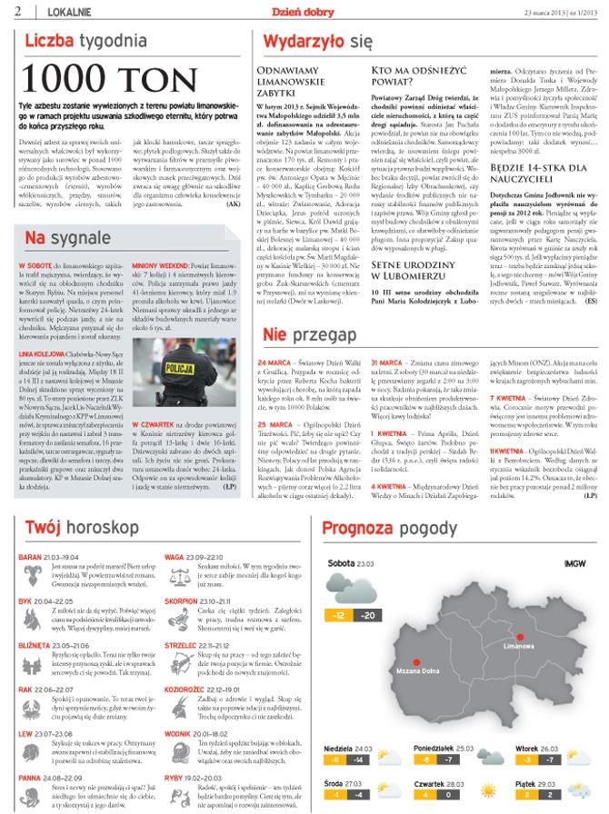 Strona gazety regionalej2