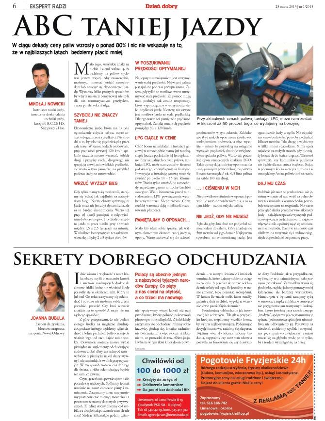 Strona gazety regionalej4