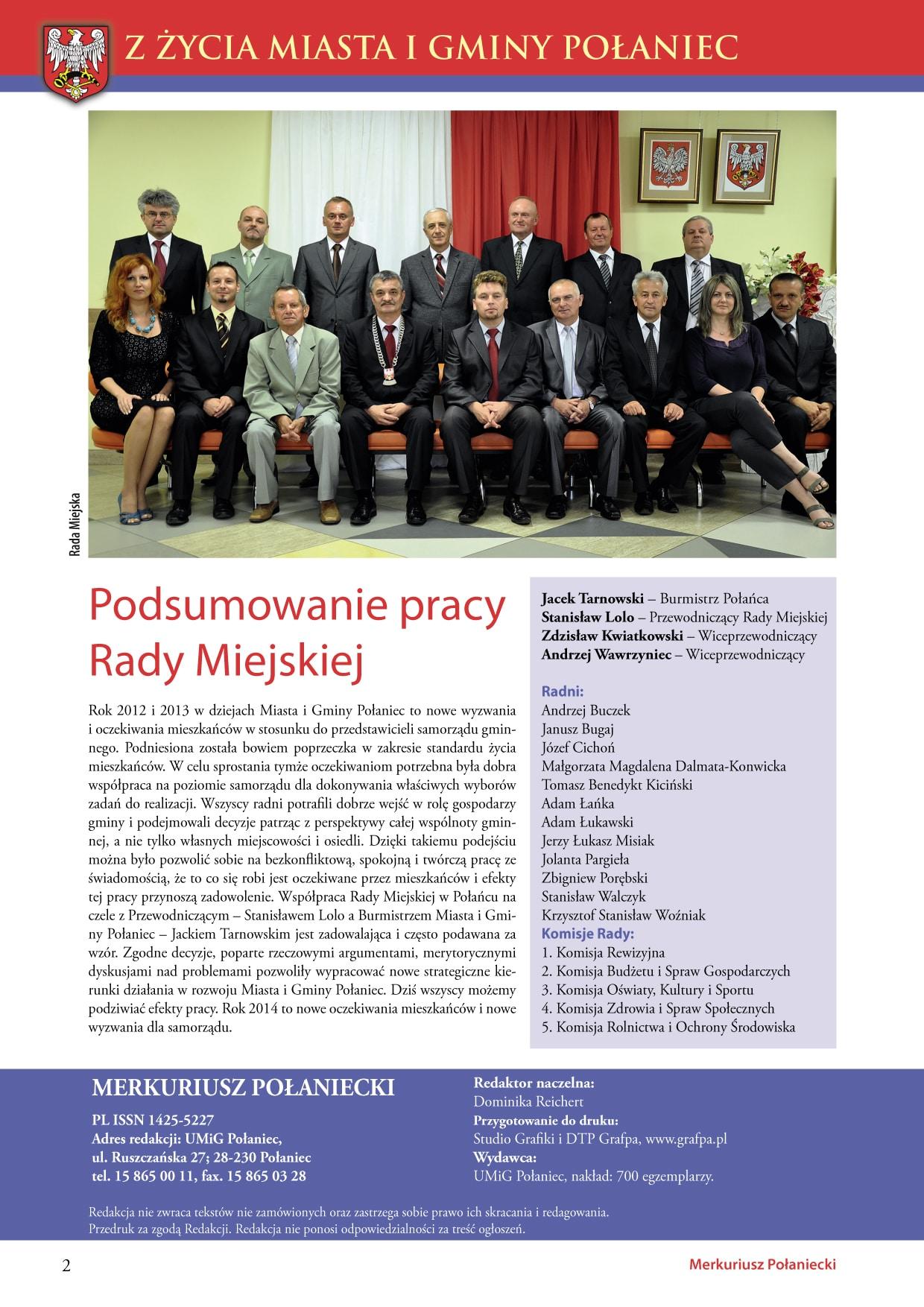 Skład informatora samorządowego