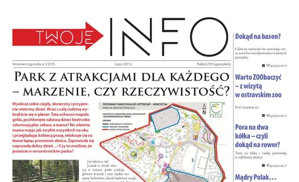 Skład miesiecznika - gazety