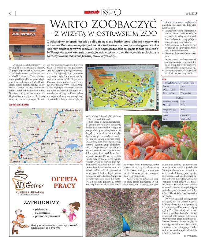 Skład miesięcznika – gazety