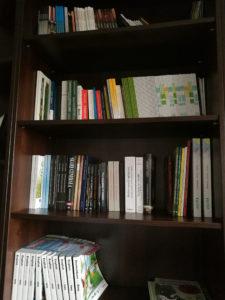 Skład książek biblioteczka