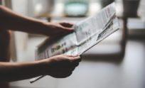 Wydanie gazety lokalnej