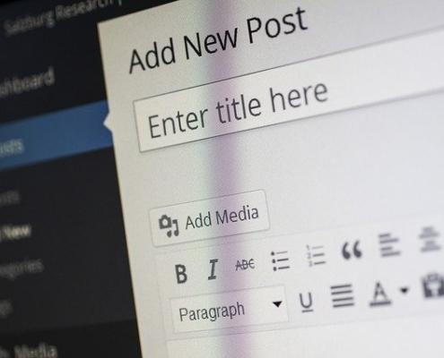 WordPress tworzenie strony krok po kroku